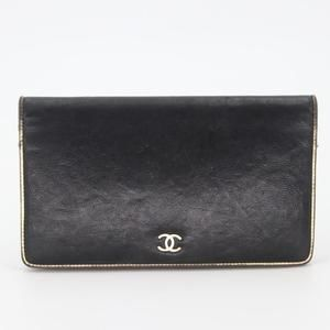 Chanel Bags - Lambskin Leather Sevruga CC Long Flap Wallet